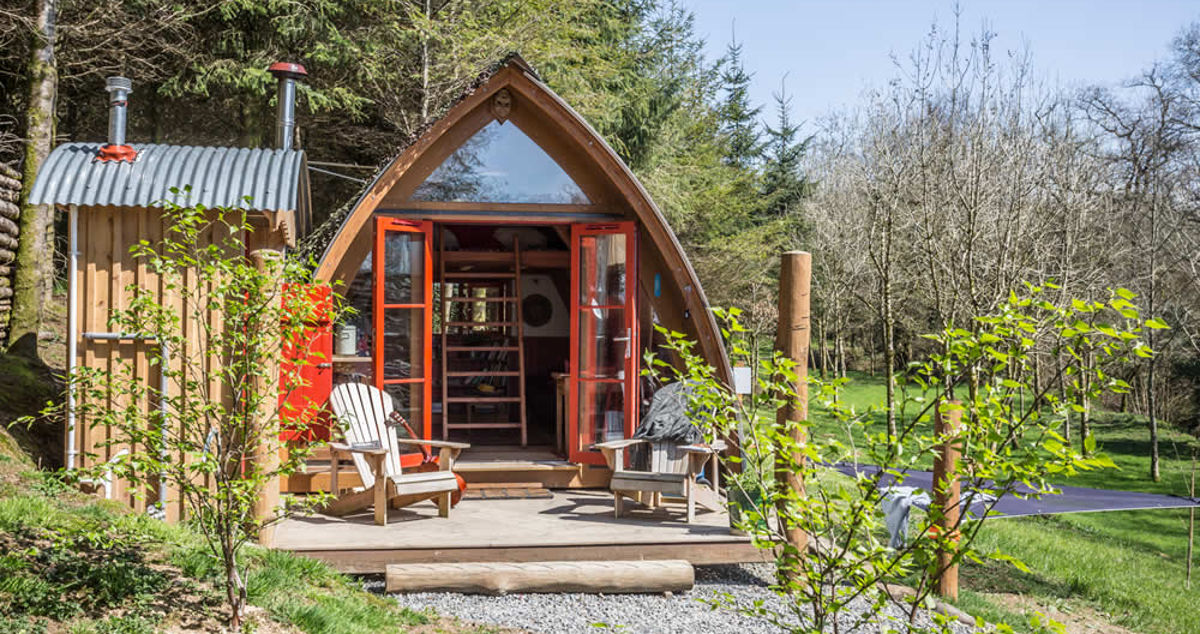 Our top ten romantic glamping spots in the UK